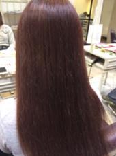 秋冬カラー☆ ローズヴァイオレットカラー!! Hair&Nail Lee西宮店所属・大津加貴則のスタイル