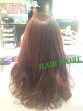 hair fiore所属・重田亜希子のスタイル