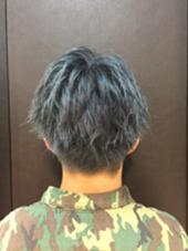 ブルージュカラー 夏休み限定カラー クールドセリエ所属・小山悠のスタイル