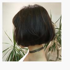お洒落ボブ❤️  お客様の頭の骨格と、首の長さを活かしてます! SPICE HAIR AVEDA (スパイス ヘア アヴェダ)所属・若松あきなのスタイル
