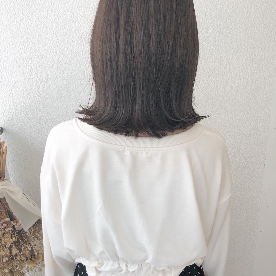 #ショート #カラー #パーマ #ヘアアレンジ 【切りっぱなし外ハネボブ】  Instagramにもヘアスタイル載せてますので是非♪♪  https://instagram.com/yuuki_matsui_/