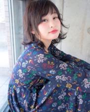 外ハネグレージュボブ✨ PHAT所属・正田健志のスタイル