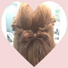 リボンアレンジ✨ Hair room CHARI所属・松尾彩のスタイル