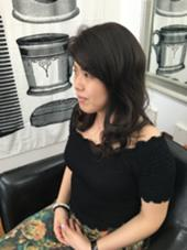 外国人風ダークアッシュカラー BeautyStudio CRAFT 目白店所属・店長 阿部圭一郎のスタイル