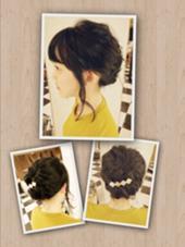 かんたん可愛いヘアアレンジ☆☆ passion茨木店所属・kuboyousukeのスタイル
