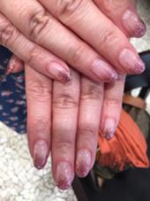 ピンクのラメグラ GRANCIEUX所属・内海美沙紀のフォト
