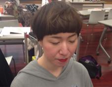 ハイライトデザイン 前髪にハイライトが入ってます。 lino**所属・伊藤和也のスタイル