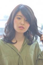 ダーク系カラーに柔らかさと透明感をプラス ブロッサム熊谷店所属・石井努のスタイル