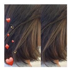 bob × highlight 最強コンビ❤︎ ストレートでもオシャレになれます☺︎ kiki hairworks所属・村上紗英のスタイル