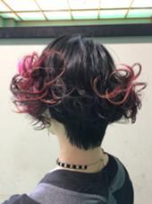 関東甲信越大会 優勝作品モデル Hair link Lien所属・加々美賢育のスタイル