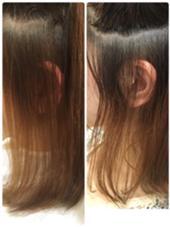 髪質改善縮毛矯正!顔周り、こめかみのうねりが気になる方にオススメです! Hair Design juliet(ヘアデザイン ジュリエ)所属・山尾奈津美のスタイル