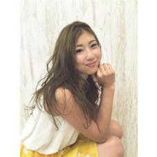 #Salut#SUMMER#SUMMERgirl#ゆる巻き chizakiharunaのスタイル