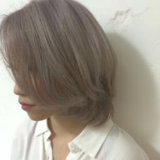 ホワイトカラー♡ ブリーチ3回は必須です! hair  make beautiful所属・_yayoiのスタイル