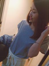 ネイル ヘアアレンジ マツエク・マツパ ロング 髪の毛とマツエクもきてくれてる♡さおりしゃん♡ありがとう♡♡♡