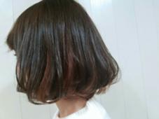 ボブ*インナーカラー hair brace所属・今井亮汰のスタイル