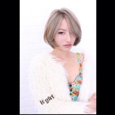 ホワイトグレーカラー!! Hair and Make kiyoshi所属・小原良之のスタイル