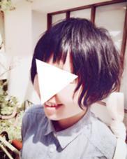 パーマを生かしたショートスタイル eNu所属・矢谷絵未のスタイル