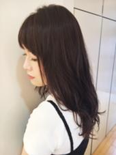 暗髪で柔らかめパーマ ReMixshinjuku所属・わたなべかよこのスタイル