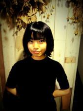 黒髪でも毛先に軽さを出したスタイル♪ MaNO所属・臼田美穂のスタイル