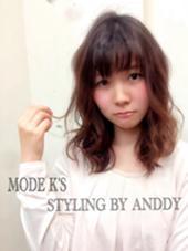 ゆるふわアンニュイ MODE K's調布店所属・安阪卓志のスタイル