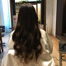 中川歩のロングのヘアスタイル