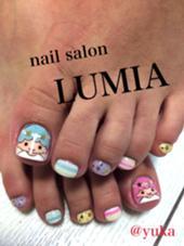 キャラクターネイルはキャラクターにもよりますが別途200〜300円かかります。 nail salon LUMIA所属・nailsalonLUMIAのフォト