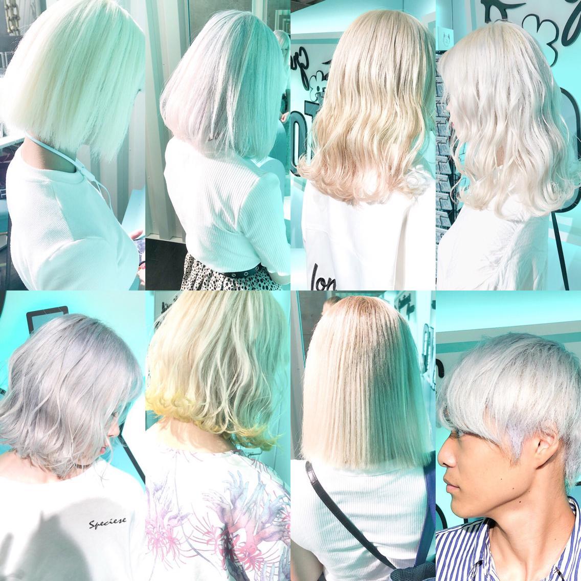 #ロング #カラー perfect White  ホワイトにしたい方は是非私に任せてください!  あなたのなりたいを全力で叶えます!  3〜5回ブリーチは必須です!  元々ダメージが強い方は1日では難しい場合もあるので 複数回に分けて長期計画でホワイトにするのがオススメです!!  minaではホワイトヘア用のヘアケアアイテムを多数ご用意がございますのでご自宅でのヘアケアも上手くできるようご説明致します!    ・perfect White・ ✳︎10800円〜✳︎ ✳︎minaでブリーチ3〜5回出来れば綺麗なホワイトヘアを作れます👻 ✳︎ ✳︎ダメージが強いとブリーチが出来ない場合もあるのでご了承ください ✳︎ムラシャンはエンシェールズのシャンプーを薄めて使うのがオススメ🧖🏻♀️ ✳︎ ✳︎黒染めや縮毛、デジパをしていなくてダメージがひどくなければおおよそ4〜5回ブリーチで出来ます🦄✳︎ 最後まで可愛く仕上げます🇰🇷 ✳︎ お店の近くにあるティファニーカフェで映えな写真もプレゼントします🦄 ✳︎ ✳︎黒染め履歴、ダメージが強い方はでホワイトにはならないです💦  #原宿#ハイトーンカラー#シルバーカラー#ヘアカラー#ネイビーカラー#ホワイトカラー#ブロンドヘアー#アッシュ#ケアブリーチ#ブロンドカラー#派手髪#ラベンダーカラー#ミルクティーカラー#アッシュ#ミルクティーベージュ#ブルージュ#グレージュ#ピンクカラー#インナーカラー#ハイライトカラー#グラデーションカラー#bts#seventeen#twice ✳︎ ✳︎ ✳︎