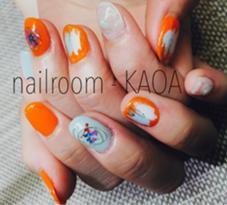 押花ネイル nailroom KANOA所属・nailroom-KANOAのフォト