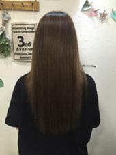 Aujuaトリートメントでブリーチオンカラーを繰り返した傷んだ髪の毛もツヤツヤになります✨ katoairiのスタイル