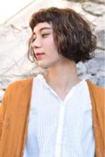 ゆるふわパーマ♡ LUCK由比ヶ浜所属・平田美里のスタイル