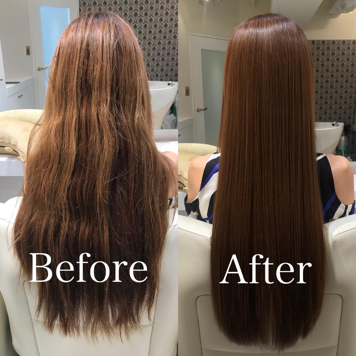 #ロング #その他 カラーダメージや加齢毛でバサバサな髪も、一瞬で憧れの美髪を手に入れることが出来ます! 縮毛矯正でも、システムトリートメントでも、酸熱トリートメントでもありません。