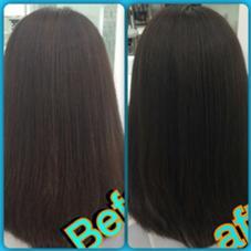 パサパサの髪から艶々アッシュグレー‼ MichioNozawahiasalon所属・宮崎洋輔のスタイル