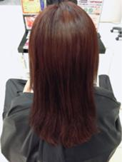 ブリーチなしの赤髪 #赤髪 #レッドカラー LUCK本厚木所属・山本果穂のスタイル
