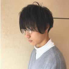 なりたいイメージと髪質頭の形を考えて 1番カッコよくなるようにカットさせていただきます^ ^ 眉カットはサービスです✨ご希望あればご相談ください! 内藤万莉のメンズヘアスタイル・髪型