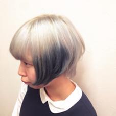 ブリーチオンカラー hair&make POSH   新宿所属・佐々木敬也のスタイル