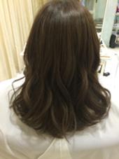 チョコミントアッシュ⭐️ LOUVRE total beauty salon 生駒店所属・山本聖華のスタイル