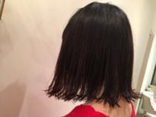 切りっぱなしボブはおしゃれな髪型にしたい方必見のスタイルです✨✨ Neolive Luca所属・遠藤沙希のスタイル