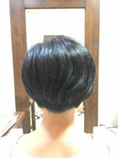 ショートボブ hair make feb所属・松澤真悟のスタイル