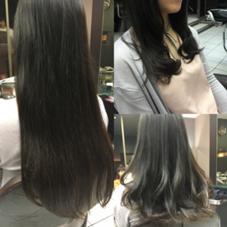 10㎝✂︎cut。顔まわりにレイヤーを 入れ動きのあるスタイルに✴︎^ ^  パーマはゆるウェーブ… 動きのあるスタイル、まとめスタイル どちらでもokです!  ありがとうございました^ ^ Hair&Beautymiq西新井店所属・岩永あかりのスタイル