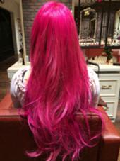 ウィッグじゃないです!カラーでもここまで鮮やかなピンクは出せます☆ モードケイズ八王子所属・吉川哲平のスタイル