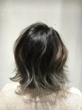 秋冬人気グラデーションカラー ハピネスクローバー八木店所属・有田ひとみのスタイル