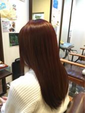 89%オーガニックで艶カラー R-EVOLUT hair 柏所属・ホシノショウタのスタイル