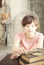編み込みアレンジ2 Aju-r hair design所属・松浦英俊のスタイル