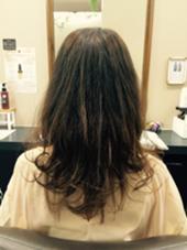 トリートメントモデル   最後は自然な巻き髪でお仕上げ しました! CLESC'(クレス)所属・田頭又憲のスタイル