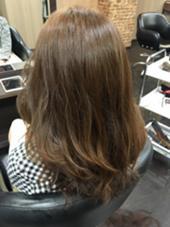 パーマとカラーを両方やってもこの透明感☆ CRECE 川崎店所属・星野夏輝のスタイル