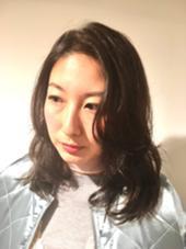 ミディアム エフォートレススタイル♡マジックカーラー仕上げ。 Of HAIR所属・藤岡まなみのスタイル