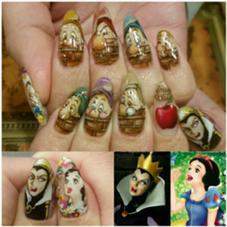 Snow White♡mynail _KIMIKOのフォト