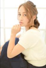 ラフな編み込みスタイル♡ k-two所属・中村美穂のスタイル
