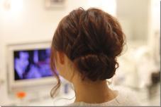 ゆるふわヘアアレンジ 可愛く纏めました FEERIE所属・TOSEIokamotoのスタイル