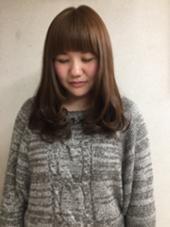 小顔に見えるカット Coco所属・石田鈴奈のスタイル